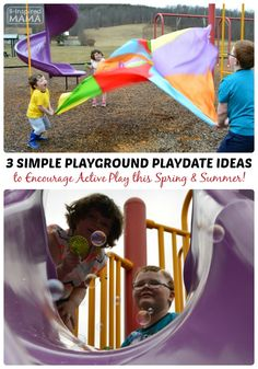 3 Simple Playground Playdate Ideas with Gymboree #HopNRoll (AD) - B-Inspired Mama