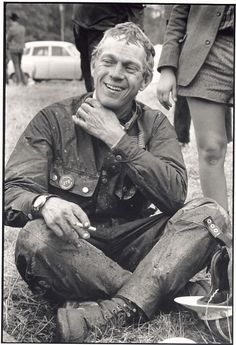 Steve McQueen, King of the Barbour International Jacket