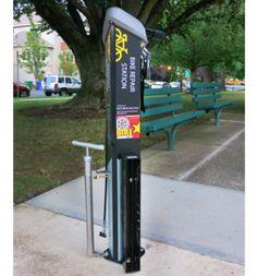 Swiftmile Solar Powered Electric Bike Rental Stations
