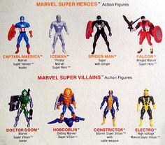 Marvel Super Heroes: Secret Wars Marvel Secret Wars, Hobgoblin, Captain America, Action Figures, Spiderman, Retro, Toys, Spider Man, Activity Toys