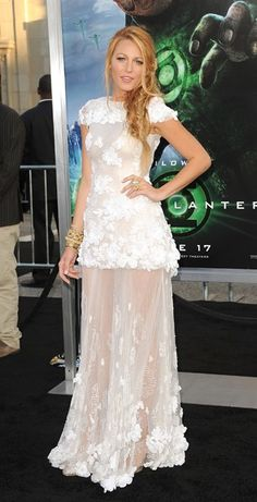 Blake Lively wedding dresses blake lively gowns Karl Lagerfeld's Red Carpet Legacy: See His Iconic Chanel Designs on Hollywood's Biggest Stars Style Blake Lively, Blake Lively Wedding Dress, Blake Lively Moda, Celebrity Wedding Dresses, Celebrity Weddings, Wedding Gowns, Celebrity Style, Red Wedding, Chanel Wedding