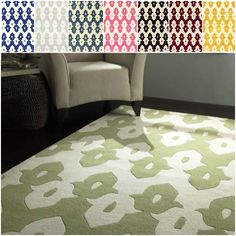nuLOOM Abstract Handmade Modern Ikat Trellis Wool Rug (5' x 8') - Overstock™ Shopping - Great Deals on Nuloom 5x8 - 6x9 Rugs     IN TAUPE????