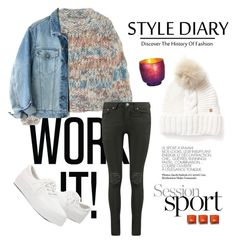 """""""Winter sport"""" by busraabusalih on Polyvore featuring Chloé, Calvin Klein, Woolrich, Cultural Intrigue, sport, jeans, chloe and woolrich"""
