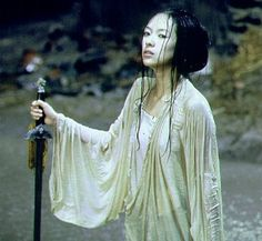 """crouching tiger hidden dragon"", I LOVE Zhang Ziyi"