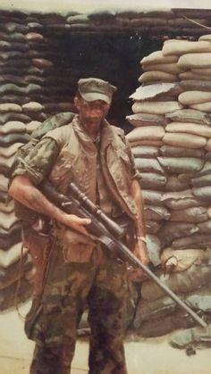 Untitled — Carlos Hathcock. Master sniper.