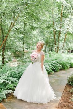 Pink Sparkly Arkansas Wedding by Weddings by Christopher & Nancy - Southern Weddings Our Wedding, Wedding Venues, Wedding Photos, Southern Weddings, Real Weddings, Katie Evans, Pink Sparkly, Dream Dress, Beautiful Bride
