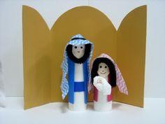 Toilet Paper Tube Nativity set