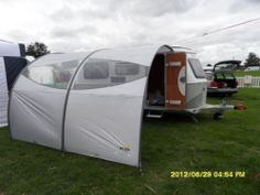 ERIBA SUN CANOPY SHELTER QUICK EASY AWNING PUCK PUCK L FAMILIA TRITON TROLL - something like this looks easy enough to rig onto caravan