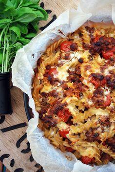 Raw Food Recipes, Healthy Recipes, Healthy Food, Hawaiian Pizza, Gluten Free, Pasta, Vegan, Baking, Image