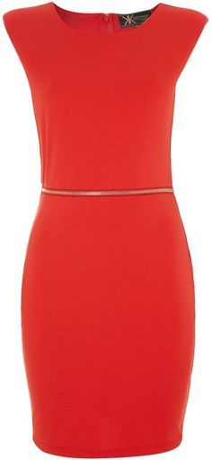 Lipsy Kardashian Kollection neon cut out back dress on shopstyle.com.au