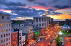 Downtown Flint, Michigan photo makes it look less getto..lol