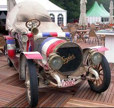 1907 Spyker Peking to Paris rally car Vintage Cars, Antique Cars, Veteran Car, Graf, Gmc Trucks, Rally Car, Old Cars, Bugatti, Cars And Motorcycles
