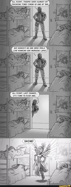 See more 'Overwatch' images on Know Your Meme! Overwatch Funny Comic, Overwatch Memes, Overwatch Fan Art, Soldier 76, Nerd, Gaming Memes, Paladin, Funny Games, Funny Comics