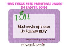 These colorful printables for Easter add a unique touch to Easter baskets, #Easter egg hunts etc.. #lunchboxlove #easteregghunts #easterideas