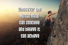 """""""Do you believe that you can achieve your dreams and goals or are you stymied by fear and beliefs?"""" - Joe Nunziata"""