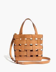Madewell The Transport Crossbody Basketweave Edition Minimalist Bag Fashion Lifestyle