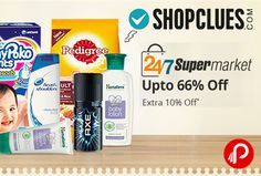 Shopclues is offering Upto 66% off + Extra 10% off on #Supermarket Personal Care Products. Valid Till 05 Dec 2016. #PersonalCare Category #BabyCare Category  Shopclues Coupon Code – SUPER10  http://www.paisebachaoindia.com/supermarket-personal-care-products-upto-66-off-extra-10-off-shopclues/