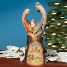 Holy Family Statue Light - OrientalTrading.com
