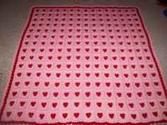 80 Best mycrochet heart afghans images in 2019 | Blankets