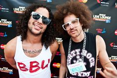 """LMFAO, the American electro pop duo consisting of rappers, singer-songwriters, producers, dancers and DJs Redfoo and his nephew SkyBlu, are famous for their style of """"Party Rock"""" with many tracks based on partying and drinking. Their influences include rappers like Tupac Shakur, hip hop groups like The Black Eyed Peas, R artists like James Brown and Michael Jackson, and rock bands such as The Beatles and Led Zeppelin."""