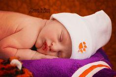 ©Mariah Wallace Photography - Newborn Photography #mariahwallacephotography #newbornphotography #newborn #clemson #tigers