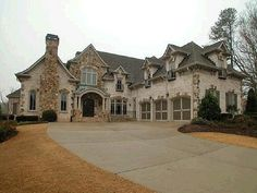 Dream Home. // WITHOUT THE THREE GARAGES!!! MAKE THEM PART OF THE HOUSE! A