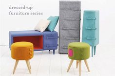 The Dressed-Up Furniture Series by Kamkam | At Home with Kim Vallee