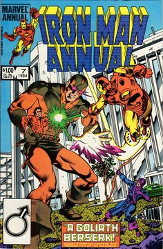 Iron Man Annual # 7 by Luke McDonnell, Ian Akin & Brian Garvey