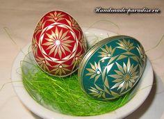 Decorar ovos de Páscoa tiras - Handmade-Paradise