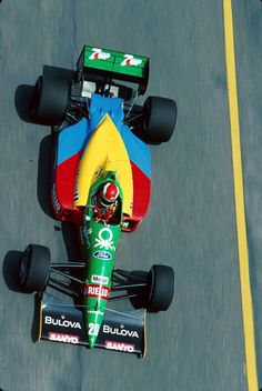 In 1989 in the #BrazilianGP at Jacarepagua, Johnny Herbert in Benetton B188 finished 4th on his #F1 debut