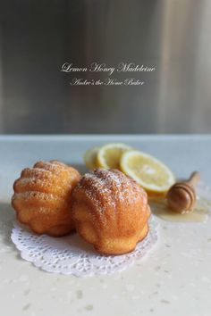 Lemon Honey Madeleine