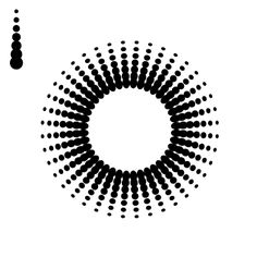 30 Illustrator Pattern Brushes for Making Flowers and Circular Designs - BittBox