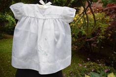 Girls Dress from SANDYS Vintage 1960s Terylene White