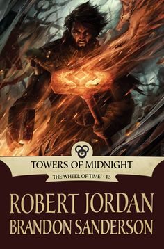 Wheel of Time 13: Towers of Midnight. I love this image of Perrin