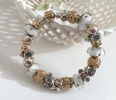 Greyish Pandora bracelet