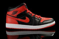 competitive price c3e7c 502ce Nike Air Jordan 1 Retro DMP Split Mens Shoes Black   Varsity Red All kinds  of Cheap Nike Shoes are provided in Nike store with superior quality and  super ...