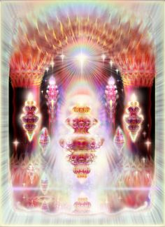 The doorways cannot be opened or passed by any of us still operating as individual units of consciousness.