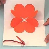 Valentine Craft - Tuto Carte coeur pop-up