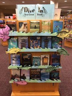 Image result for book displays water