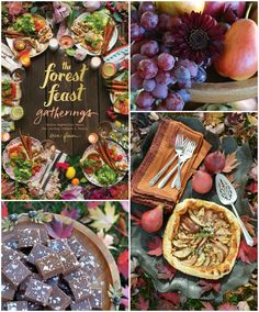 The Novel Bakers are backwith more feasting and gathering fromTheForest Feast Gatherings: Simple Vegetarian Menus for Hosting Friends & Familyby Erin Gleeson.Lushly illustrated with hundre…