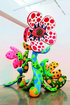 yayoi kusama flower - Google Search