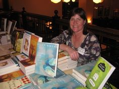 Sally Brewster. Knows her wine. And her books. Co-Owner of Park Road Books in Charlotte, NC
