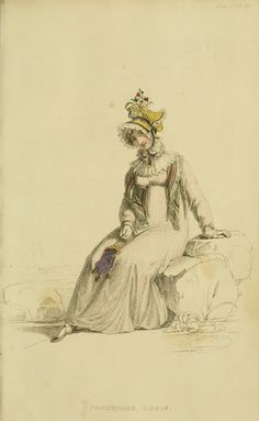 EKDuncan - La mia Fanciful Muse: Regency Era Fashions - Repository di Ackermann 1815