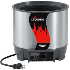 Vollrath 72017 Cayenne Round Heat N Serve Rethermalizers, 7-Quart by Vollrath. $199.53. Low-water indicator light eliminates guesswork. This cayenne round heat n serve rethermalizers features exclusive direct contact heating system. It includes recessed control knobs. Must be used with water for maximum energy transfer. Available in 7-quart capacity; measures 10-9/16-inch diameter by 9-5/8-inch height. This cayenne round heat n serve rethermalizers features exclusiv...