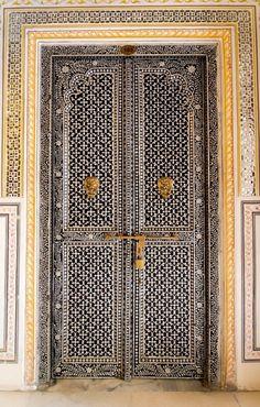 Jaipur, Rajasthan, India door