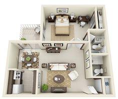 apartment 706sqft