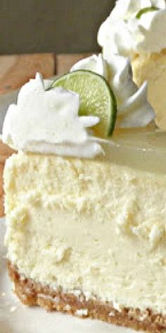 Lime Cheesecake Key Lime CheesecakeThe Key The Key may refer to: Coconut Dessert, Bon Dessert, Key Lime Cheesecake, Cheesecake Recipes, Keylime Cheesecake Recipe, Cheesecake Crust, Coconut Cheesecake, Cheesecake Brownies, Mini Cakes