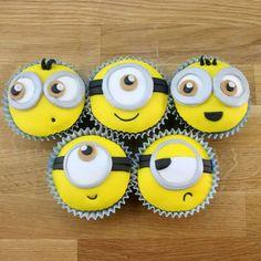 Minion Cupcake Tutorial | Despicable Me Cake Ideas