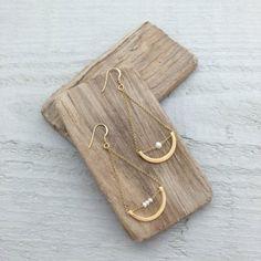 10237 - Boucles d'oreilles Iris (perle)
