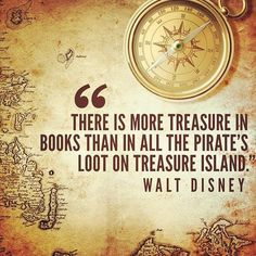 treasure in books ~walt disney